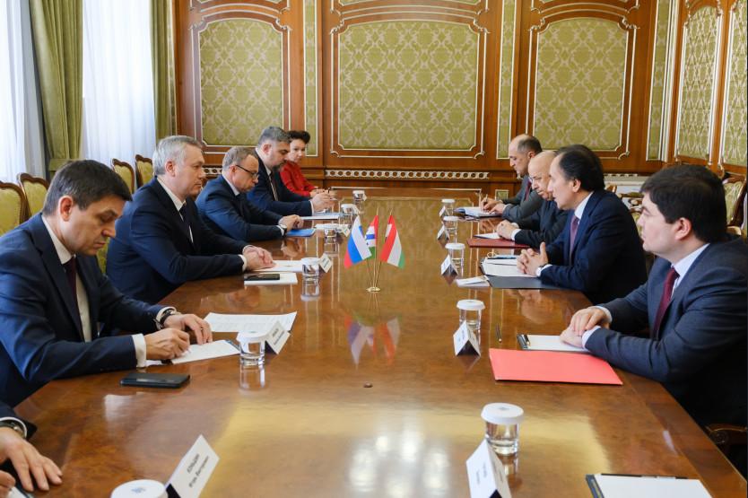 Губернатору НСО представили нового консула Республики Таджикистан в Новосибирске